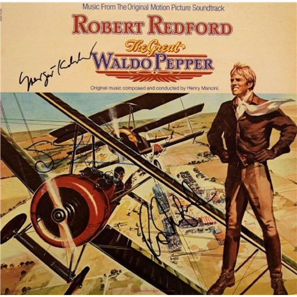 The Great Waldo Pepper signed soundtrack