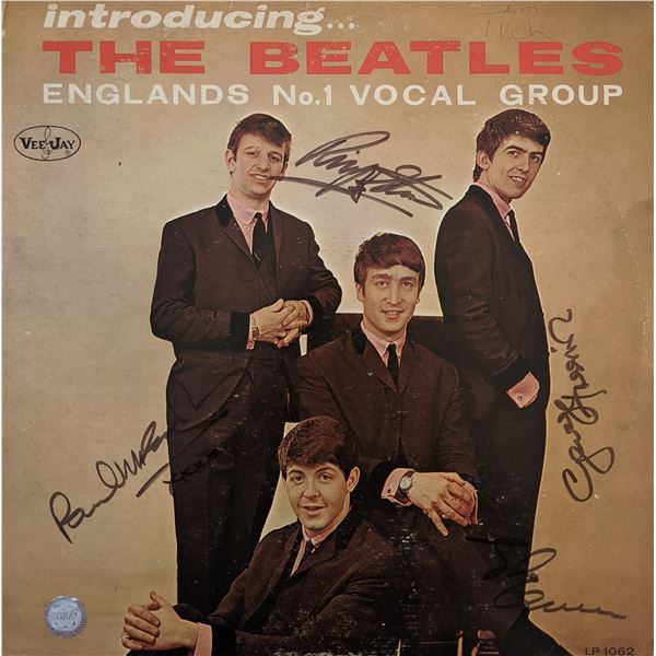 Introducing... The Beatles Signed Album