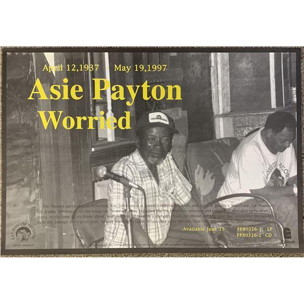 Asie Payton Worried promo poster