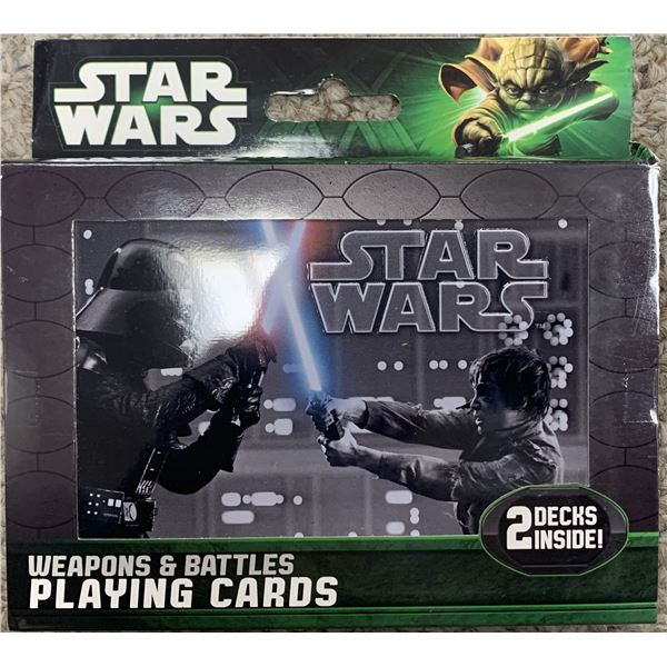 Star Wars double deck playing cards