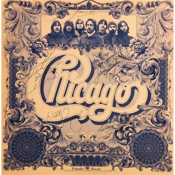 Chicago VI signed album