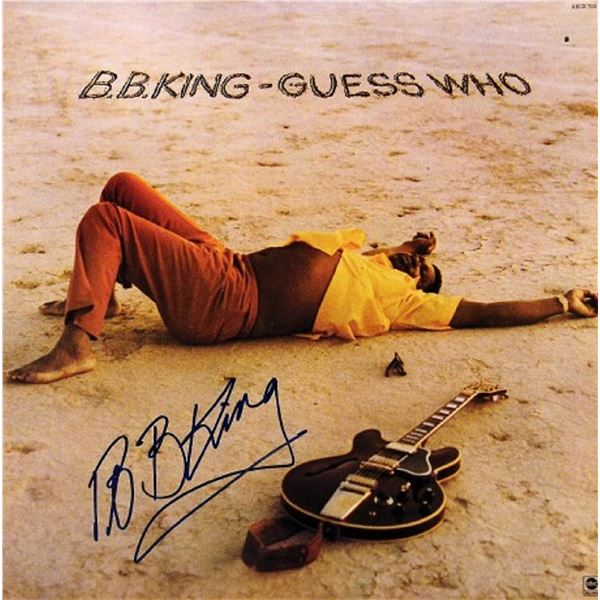 """B.B. King signed """"Guess Who"""" album"""