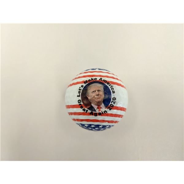 Donald Trump MAGA Golf Ball - Red White and Blue