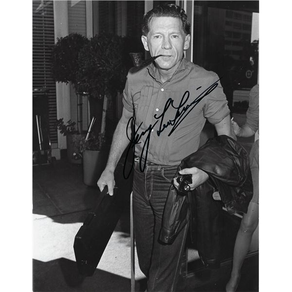 Jerry Lee Lewis signed photo