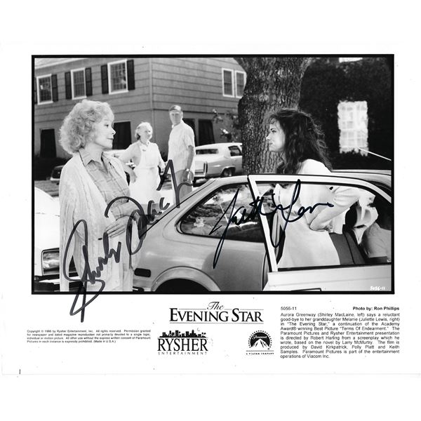 The Evening Star cast signed photo