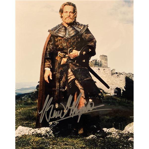 Dragonheart Brian Thompson signed movie photo