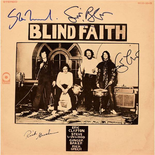 Blind Faith signed 1969 Debut Album