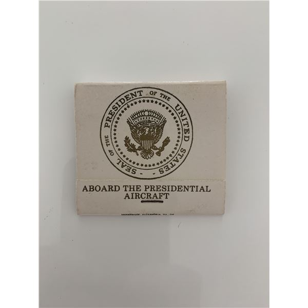 Presidential Air Force Once matchbook