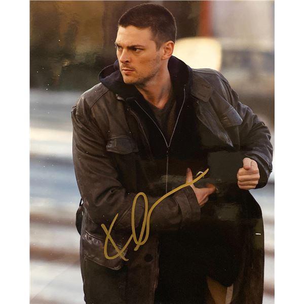The Bourne Supremacy Karl Urban signed movie photo
