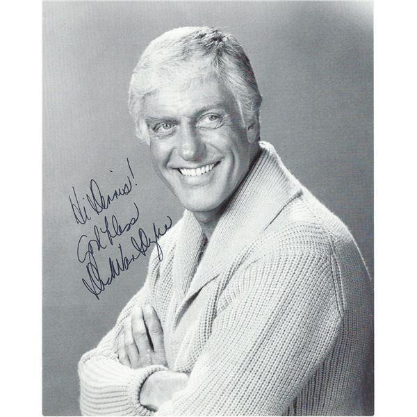 Dick Van Dyke signed photo