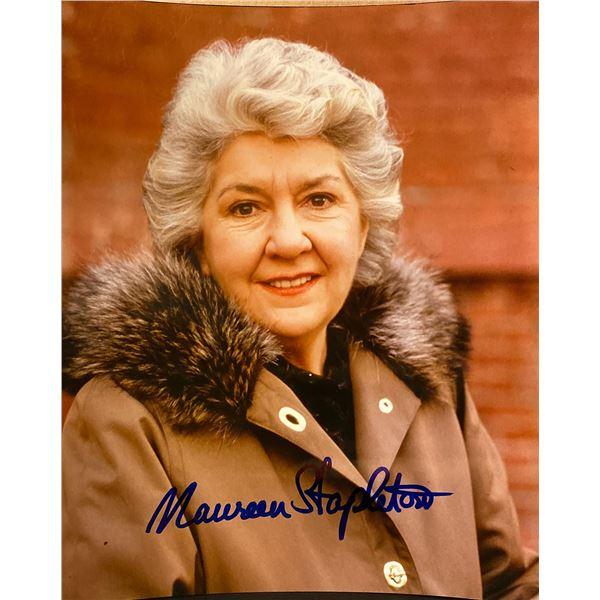 Maureen Stapleton signed photo