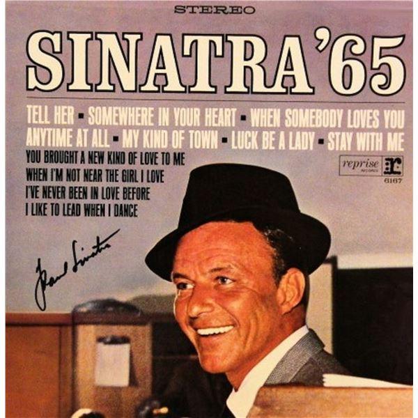 "Frank Sinatra signed ""Sinatra '65: The Singer Today"" album"
