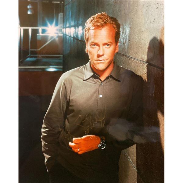 24 Kiefer Sutherland signed photo