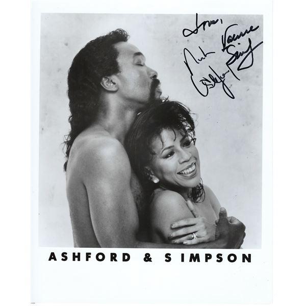 Ashford & Simpson signed photo