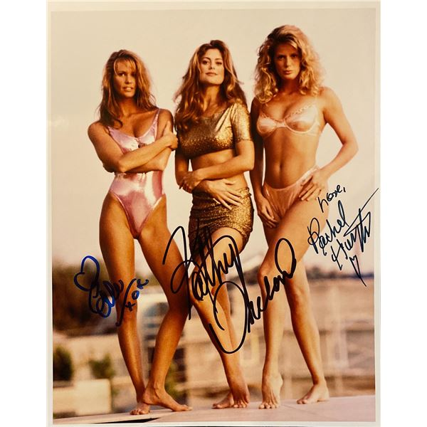 Sports Illustrated Swimsuit Trio signed photo