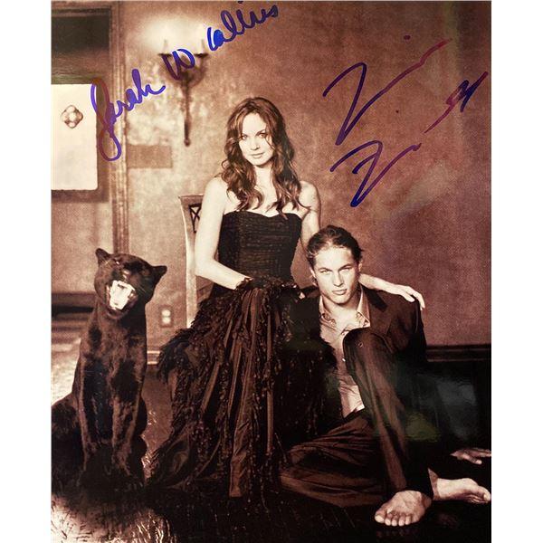 Tarzan (2003) Travis Fimmel and Sarah Wayne Callies signed photo