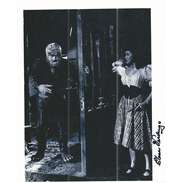 House of Frankenstein Elena Verdugo signed movie photo