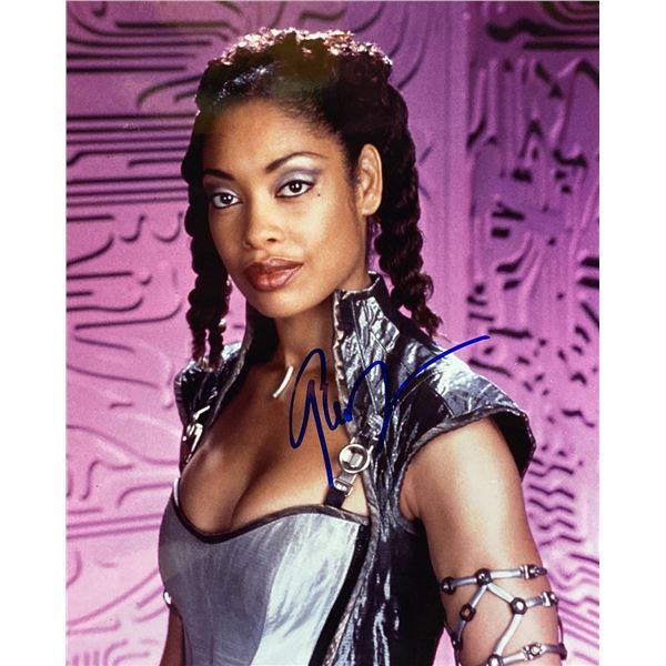 Cleopatra 2525 Gina Torres signed photo