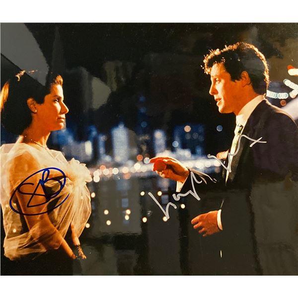 Two Weeks Notice Hugh Grant and Sandra Bullock signed movie photo