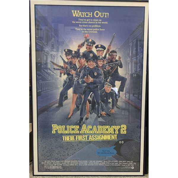 Police Academy 2 movie poster