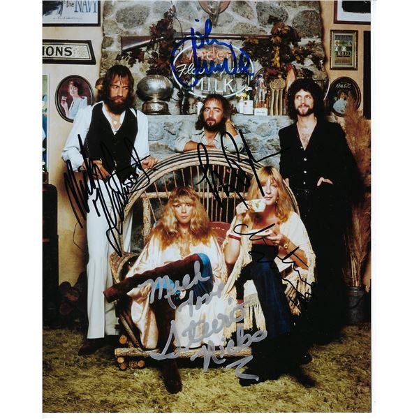 Fleetwood Mac signed photo