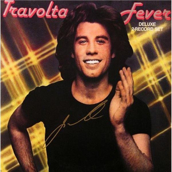 "John Travolta signed ""Travolta Fever"" album"
