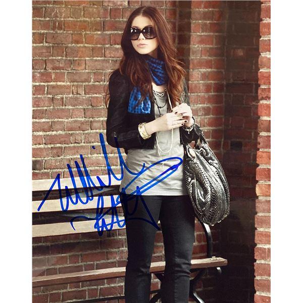 Michelle Trachtenberg signed photo