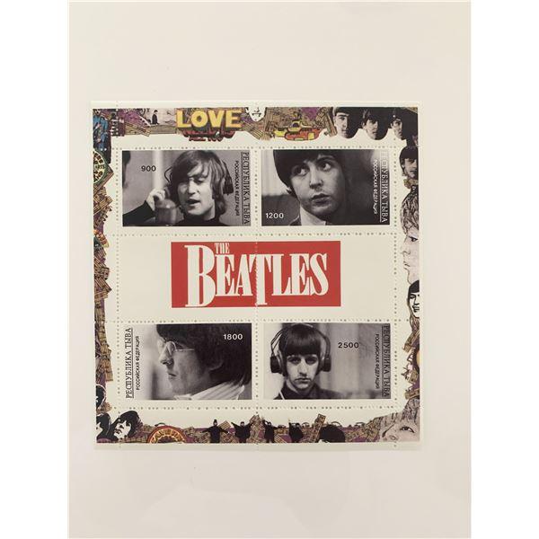 TThe Beatles Souvenir Stamp Set