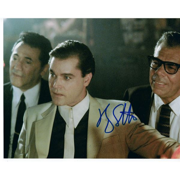 Ray Liotta signed movie Goodfellas photo