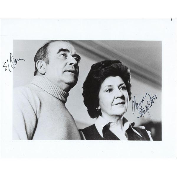 The Gathering Ed Asner and Maureen Stapleton signed movie photo