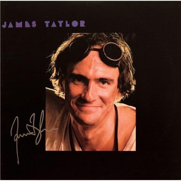 "James Taylor signed ""Dad Loves His Work"" album"
