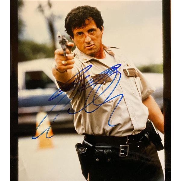 Cop Land Sylvester Stallone signed movie photo