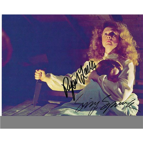 Carrie cast signed photo