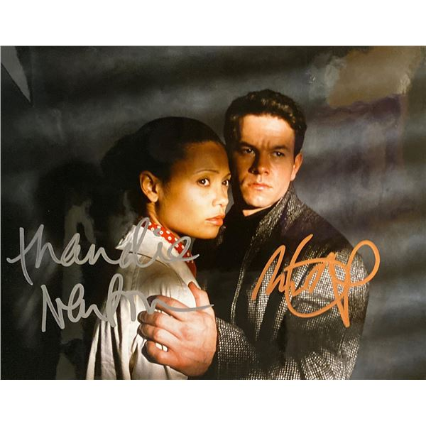 The Truth About Charlie Mark Wahlberg and Thandie Newton signed movie photo