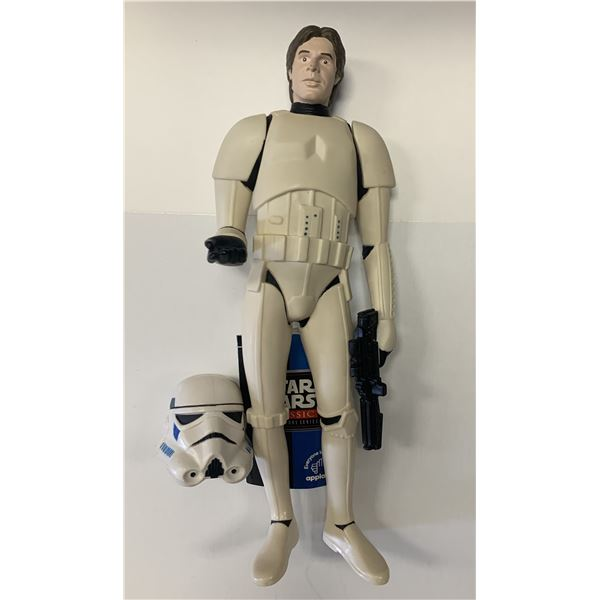 Star Wars unsigned Han Solo Stormtrooper action figure