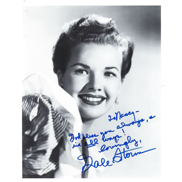 Gale Storm signed photo