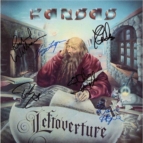 "Kansas signed ""Leftoverture"" album"