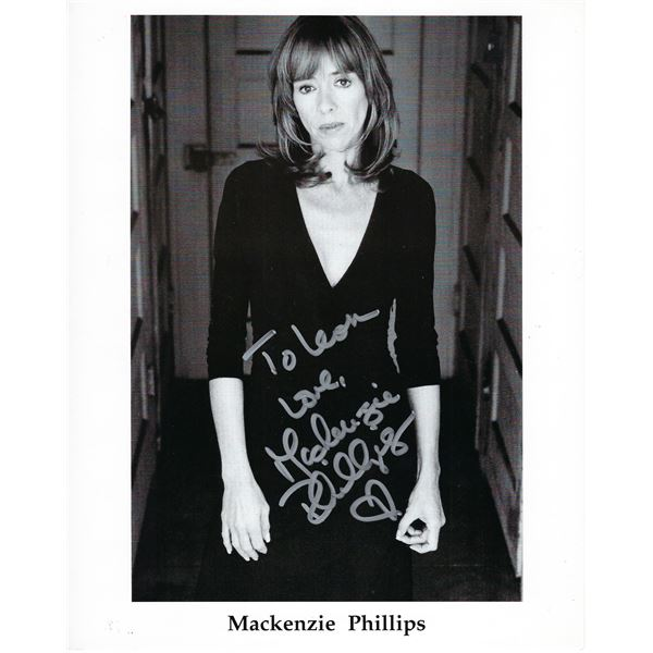 Mackenzie Phillips signed photo