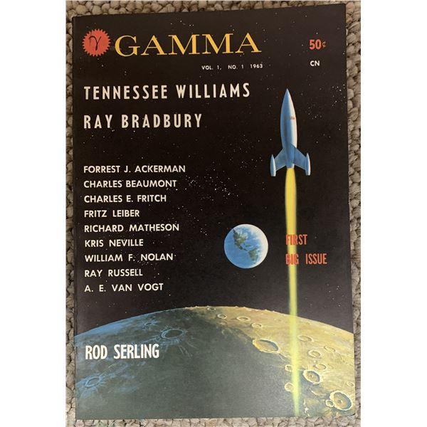 William F. Nolan Gamma signed book