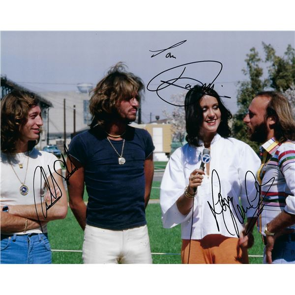 The Bee Gees signed photo