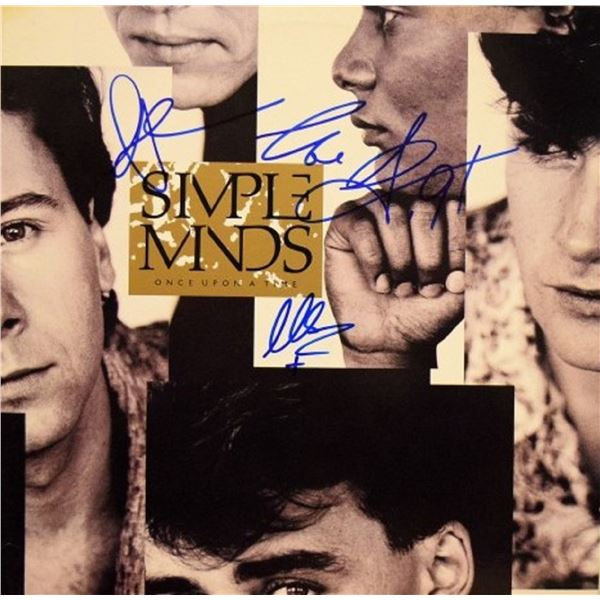 """Simple Minds signed """"Once Upon A Time"""" album"""