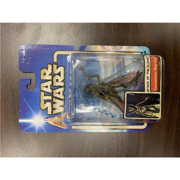 Star Wars unsigned Geonosian Warrior action figure