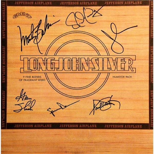"Jefferson Airplane signed ""Long John Silver"" album"