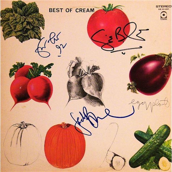 Best of Cream signed album
