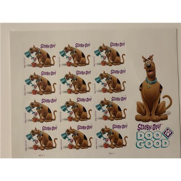 Scooby-Doo! Stamp Set