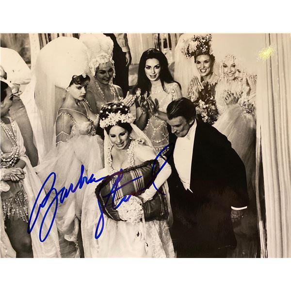 Funny Girl Barbra Streisand signed movie photo