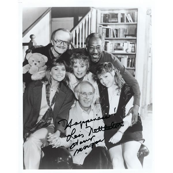 You Can't Take It with You Lois Nettleton and Harry Morgan signed photo