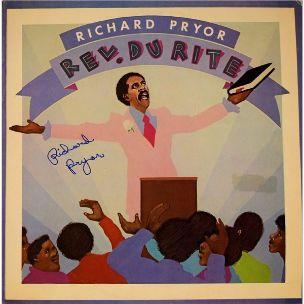 Richard Pryor signed Rev. Du Rite album