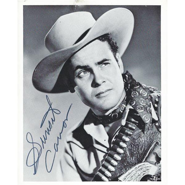 Days of Buffalo Bill Sunset Carson signed photo