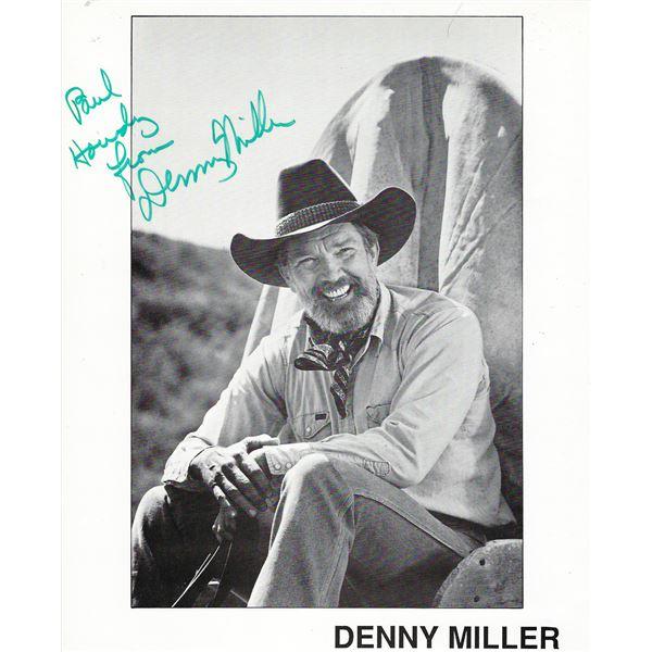 Denny Miller signed photo